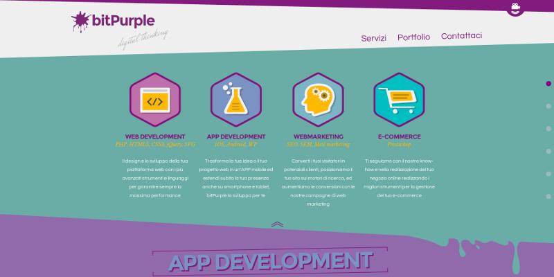 Realizzazione web app sviluppo app Android e iOS a Bologna bitPurple 1880f5887bd